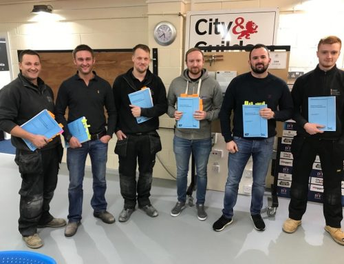All of our engineers have passed their 18th Edition Regs
